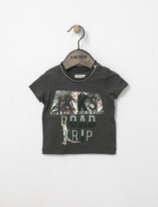 IKKS IKKS T-shirt Road Trip Kaki
