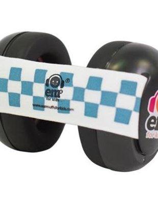 EM's for Kids Em's For Kids Gehoorbeschermers Baby Black Bubs Blue White