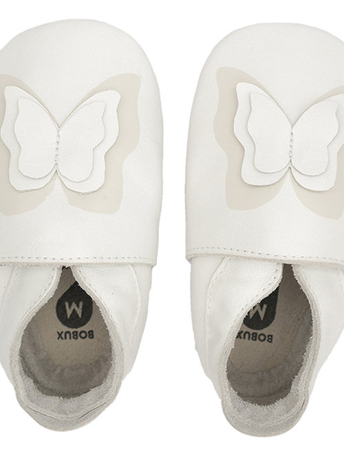 Bobux Bobux Soft Soles Flutter White