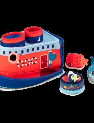 Lilliputiens Lilliputiens - Badspeelgoed - Het Schip van Marius