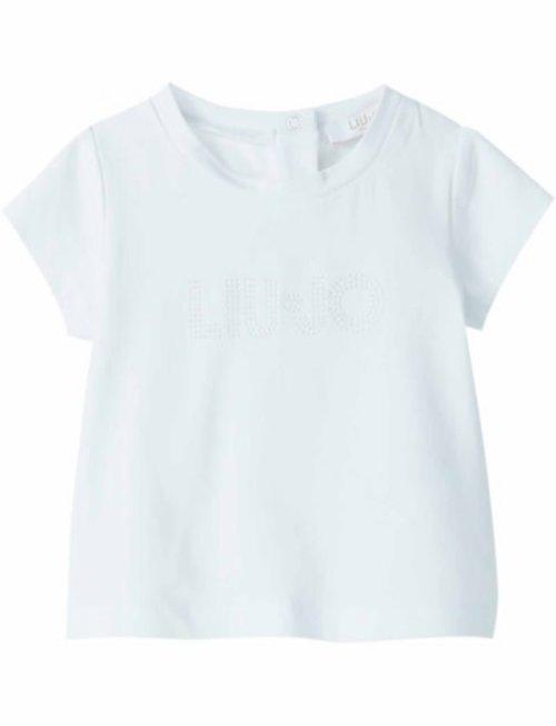 Liu Jo Liu Jo T-Shirt Wit Met Logo