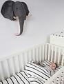 Childhome Childhome Dierenkop Olifant Vilt