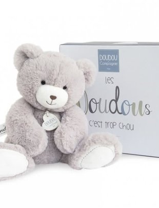 Doudou et Compagnie Doudou et Compagnie Teddybeer Grijs