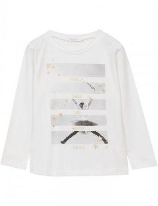 Liu Jo Liu Jo T-shirt Spakly Girls Are Happier