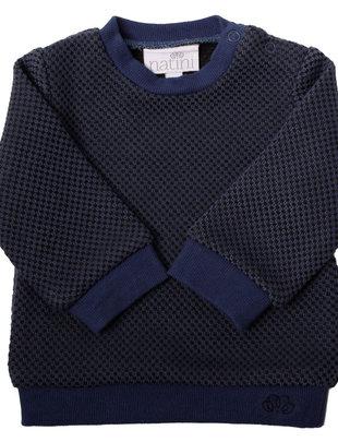 Natini Natini Sweater Lewis Blue Black