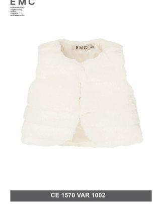 EMC EMC Bodywarmer White Faux Fur