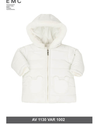 EMC EMC Vest White Voor Meisjes