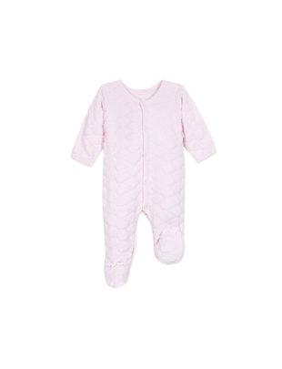 Absorba Absorba Pyjama Roze  Met Wolkjes