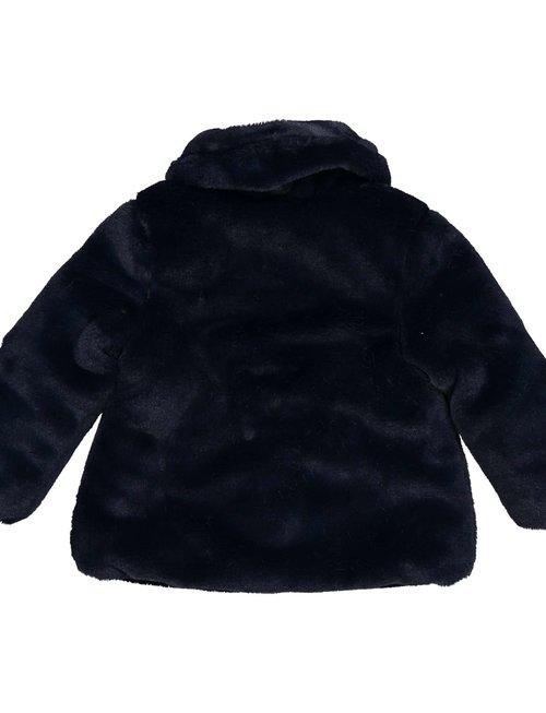 Birba Birba Mantel faux Fur Blue