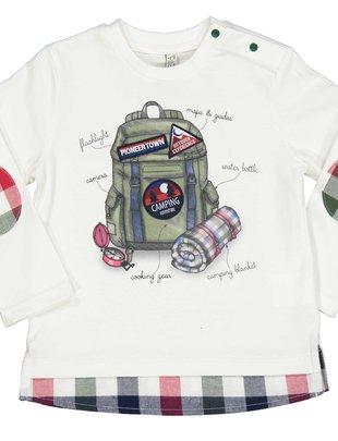 Birba Birba T-shirt Camping Voor Jongens