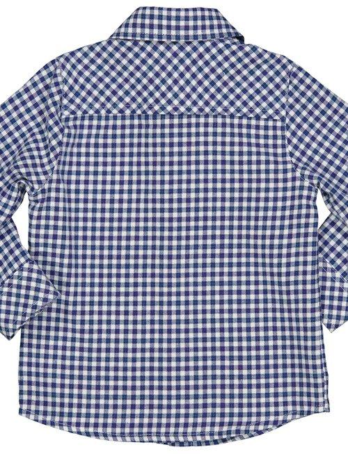 Birba Birba Hemd Vichy Blauw Voor Jongens