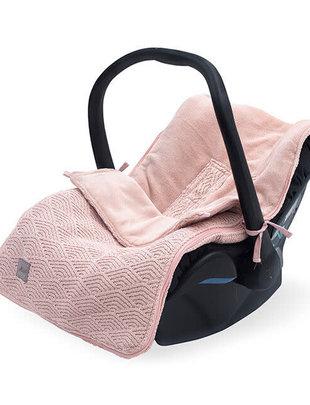 Jollein Jollein Maxi Cosi Voetenzak River Knit Pale Pink