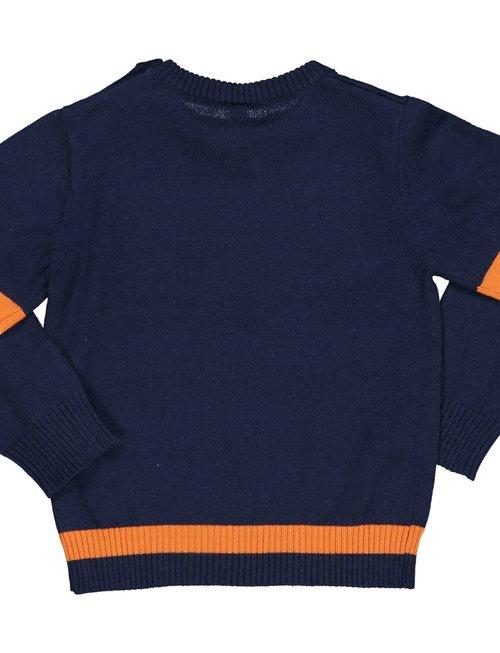 Birba Birba Pull Tricot Blauw Voor Jongens