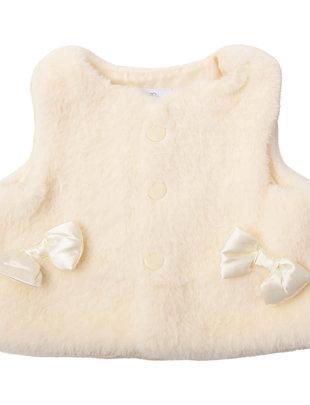 Natini Natini Gilet Girls Faux Fur