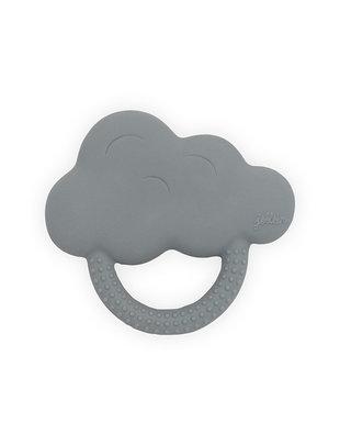 Jollein Jollein Rubberen Bijtring Cloud Stormy Grey
