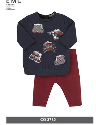 EMC EMC Setje Sweater & Broek Voor Meisjes