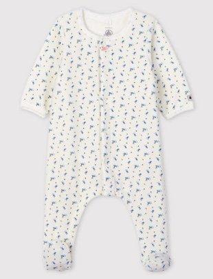 Petit Bateau Petit Bateau PyjamaMet Bloemenprint