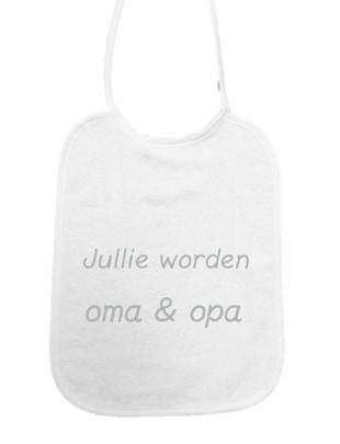 """Little Me Little Me Slab """"Jullie Worden Oma en Opa"""""""