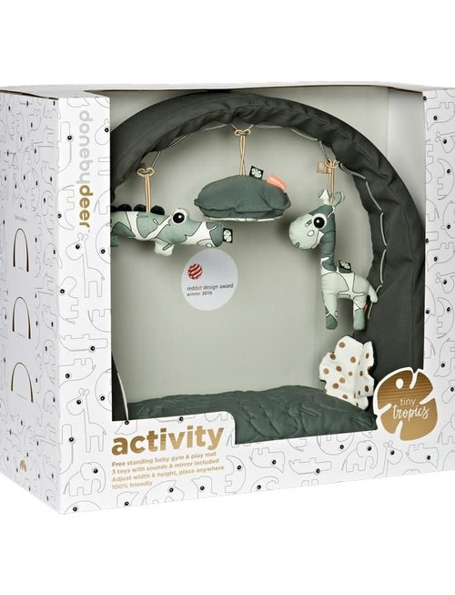 Done by Deer Done by Deer Activity Gym & Play Mat Tiny Tropics