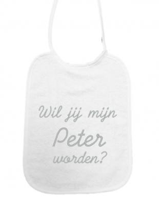 """Little Me Little Me Slab """"Wil jij mijn Peter worden?"""""""
