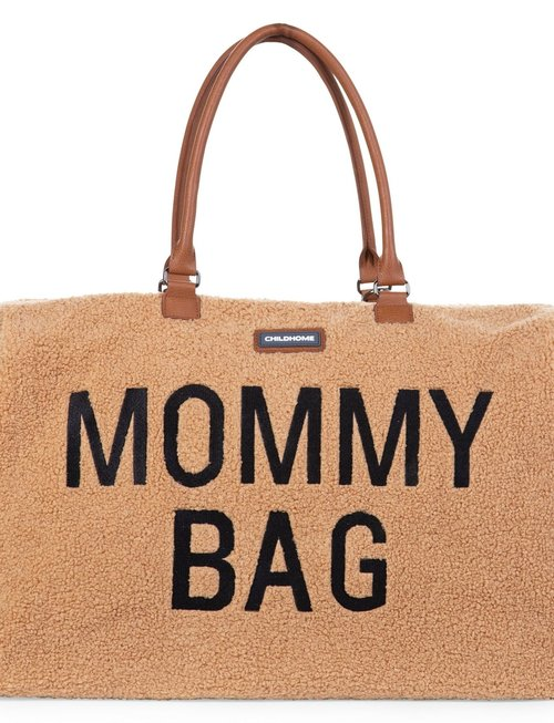 Childhome Childhome Mommy Bag Verzorgingstas - Teddy Beige