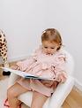Childhome Childhome Schommelstoel Voor Kinderen Teddy Ecru Naturel