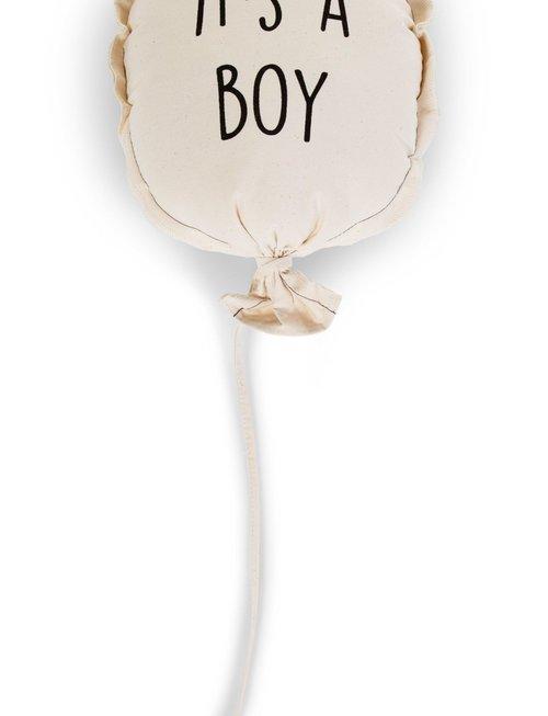 Childhome Childhome Canvas Ballon It's A Boy 35x26x8 cm