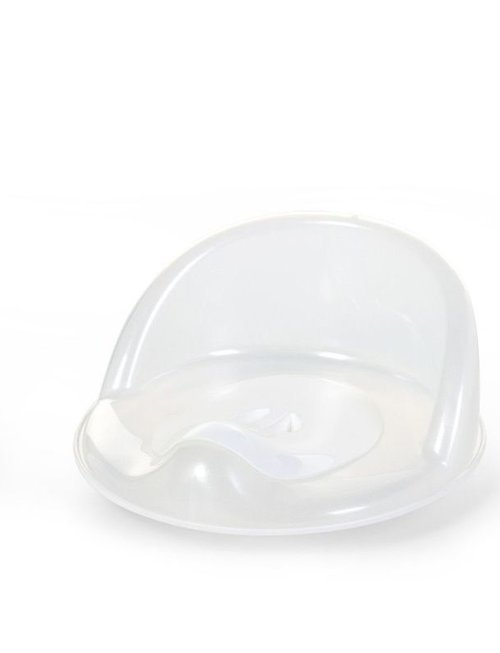 Childhome Childhome Potty + Opstapje - 3 in 1 Frosted