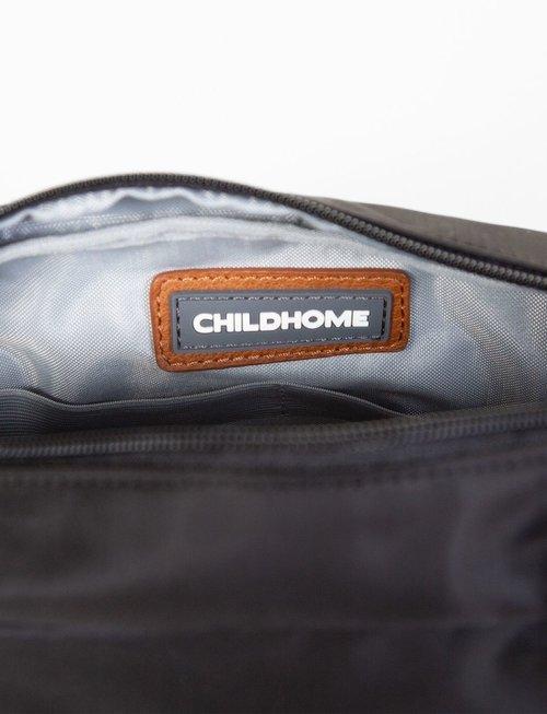 Childhome Childhome Momlife Toilettas - Zwart Goud