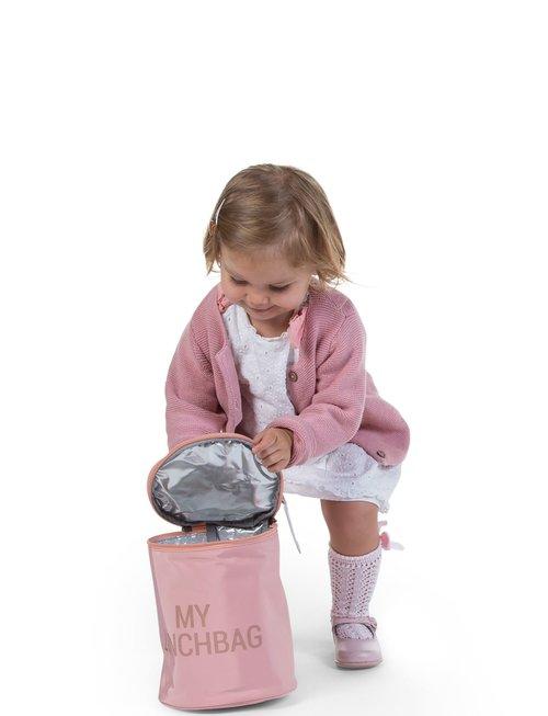 Childhome Childhome My Lunchbag Met Isolerende Voering - Roze Koper