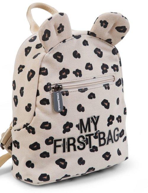 Childhome Childhome Kinderrugzak My First Bag - Leopard