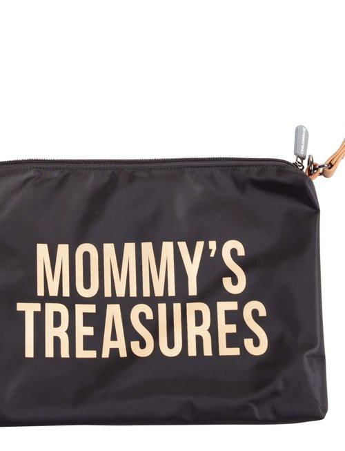 Childhome Childhome Mommy's Treasures Clutch Black/Gold