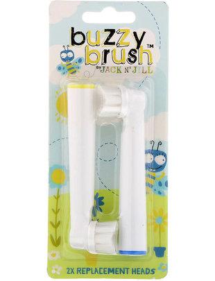 Jack 'n Jill Jack N' Jill Buzzy Electrische Tandenborstel Vervangkopjes (Nieuw Model)
