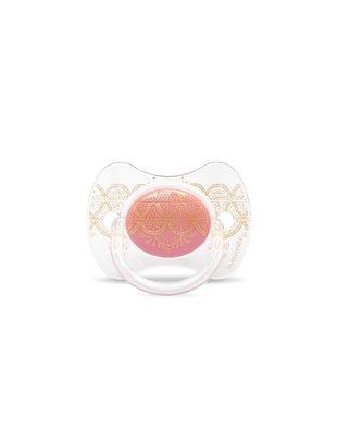 Suavinex Suavinex  Fopspeen Couture Silicone Speen Phys. 4-18m Pink