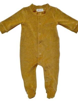 Witlof For Kids Witlof For Kids Pyjama Velours Met Voet Sweet Honey