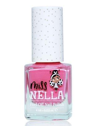 Miss Nella Miss Nella Nagellak 'Peel Off' Pink A Boo