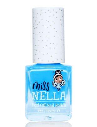Miss Nella Miss Nella Nagellak 'Peel Off' Mermaid Blue