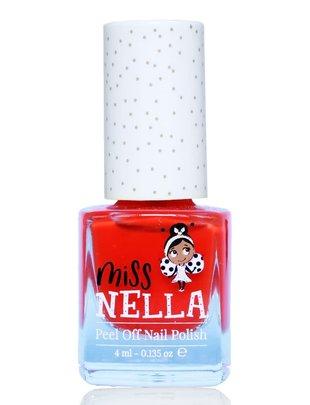 Miss Nella Miss Nella Nagellak 'Peel Off' Strawberry'n Cream