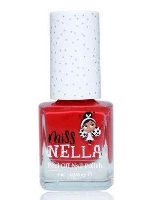 Miss Nella Miss Nella Nagellak 'Peel Off' Cherry Macaroon