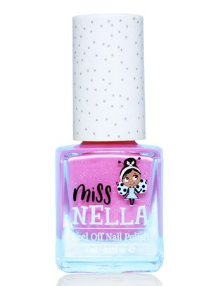 Miss Nella Miss Nella Nagellak 'Peel Off' Blueberry Smoorthie