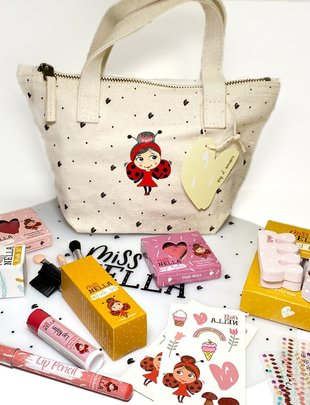 Miss Nella Miss Nella Canvas Bag Of Wonders
