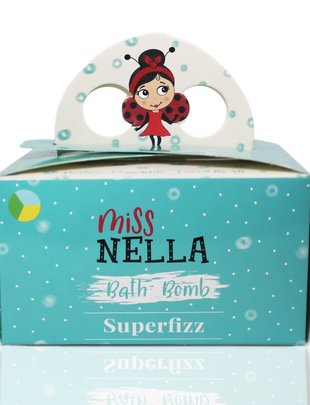 Miss Nella Miss Nella Bath Bomb Set Van 3  'Superfizz'