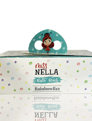 Miss Nella Miss Nella Bath Bomb Set Van 6 'Rainbowfizz'