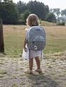 Childhome Childhome Schoolrugzak Kids ABC - Grijs Ecru