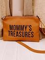 Childhome Childhome  Mommy's Treasures Clutch - Lederlook Bruin