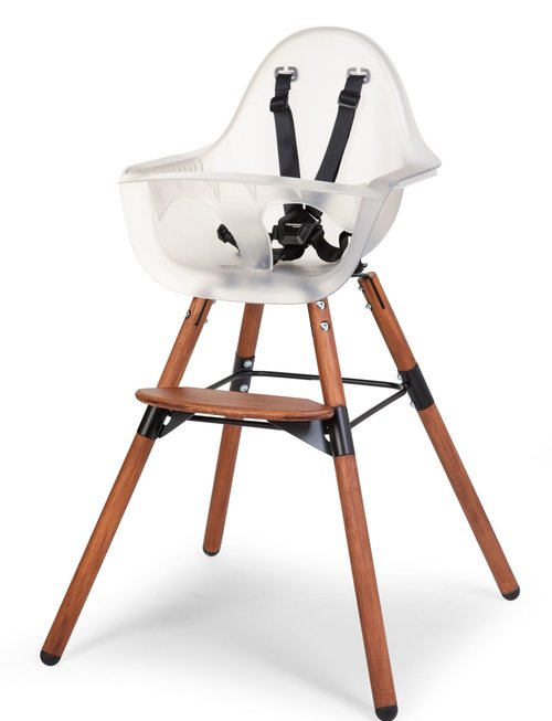 Childhome Childhome Evolu 2 Kinderstoel - Verstelbaar In Hoogte Donker Naturel Frosted