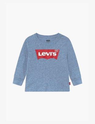 Levi's Levi's T-Shirt Boys Batwing Tee Longsleeves Regatta Snow