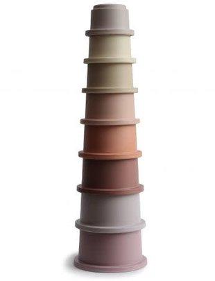 Mushie Mushie Stacking Tower Cups Pastel