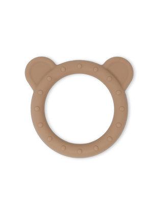 Mushie Mushie Bijtring Bear Natural/Brown