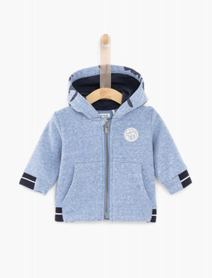 IKKS IKKS Hoodie Boys 'Love Of The Ocean' Blue Lagon
